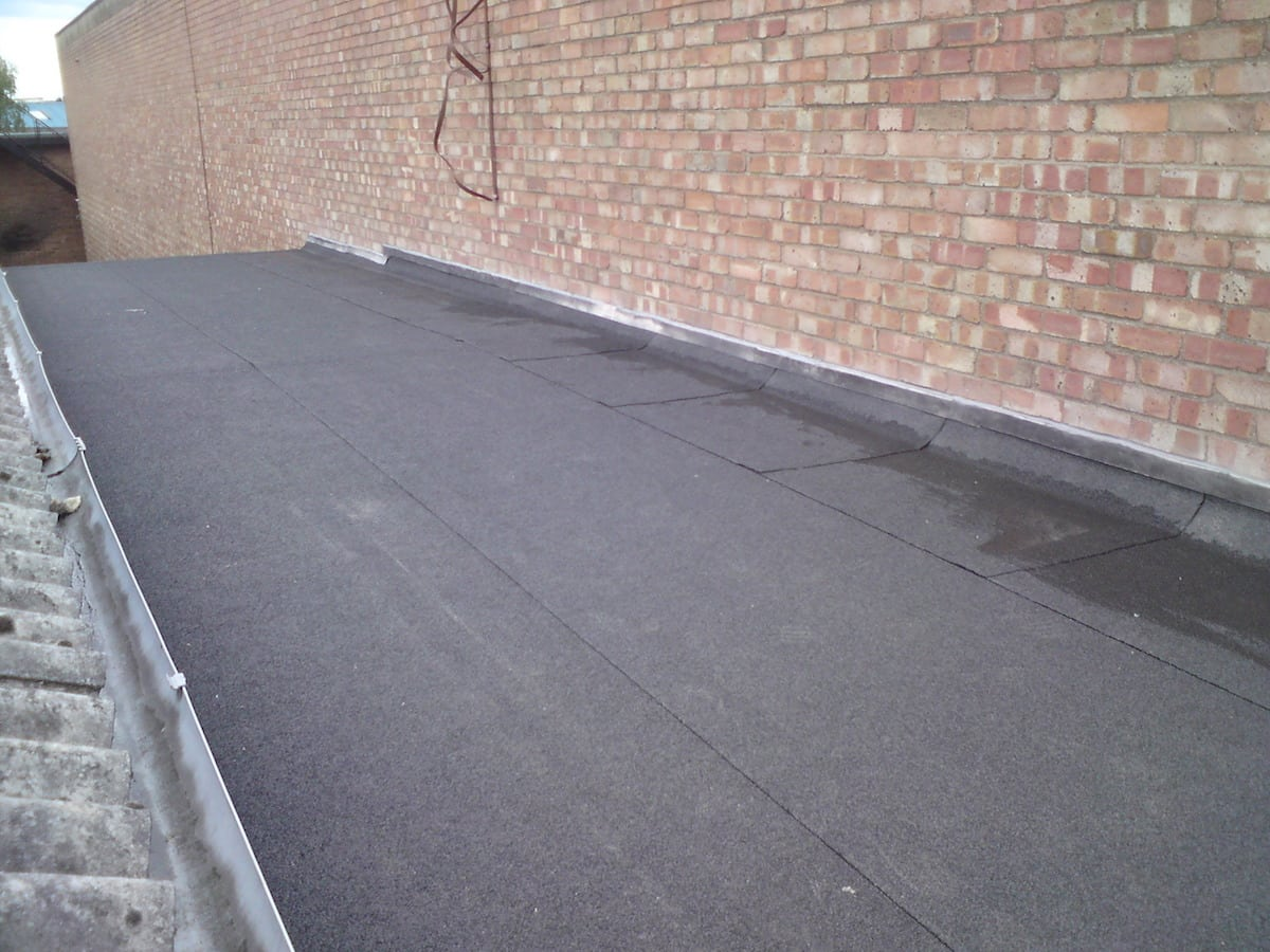3 Layer Felt System Industrial Roof Chelmsford Mike