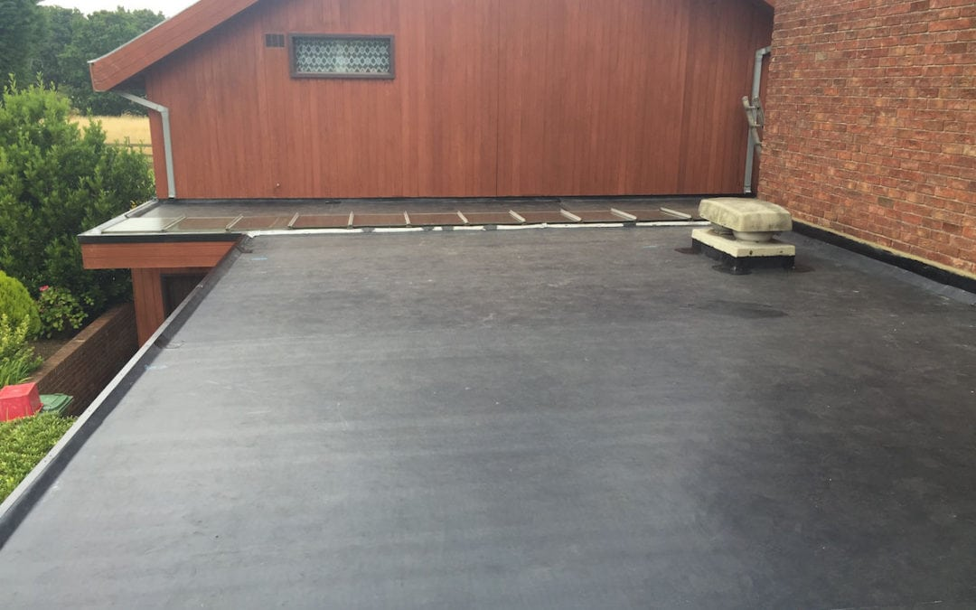 Rubber Roof Ingatestone Essex 2