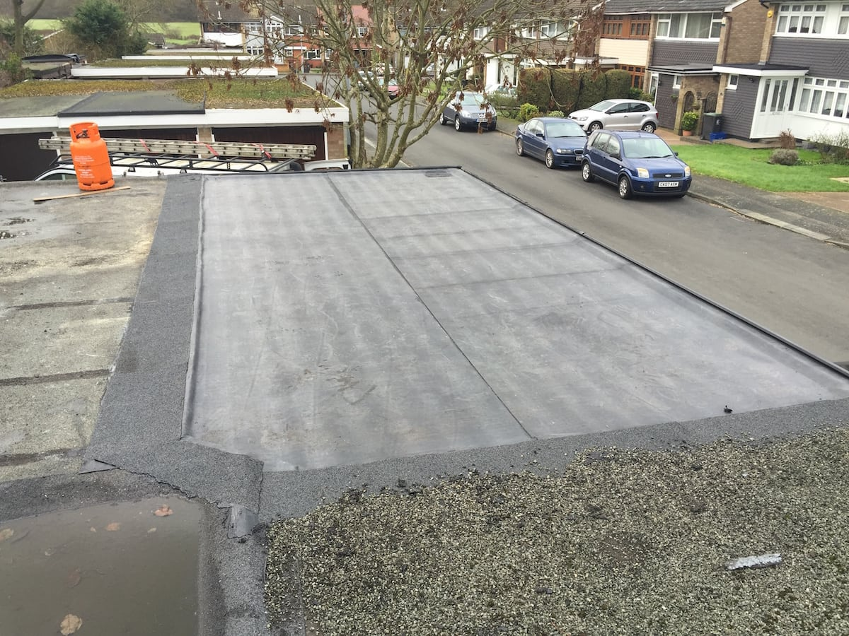Rubber Roof in Romford Essex
