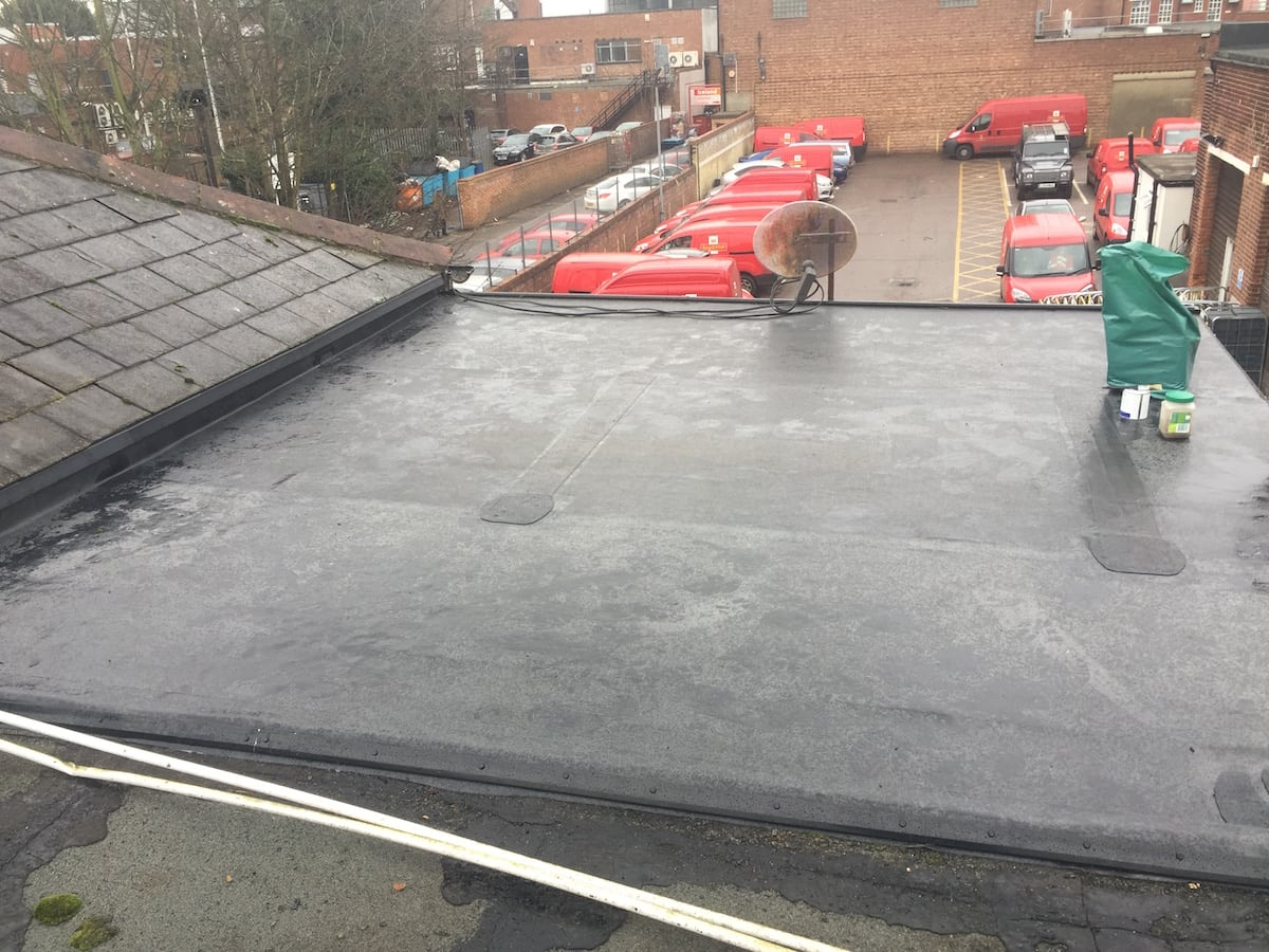 Rubber Roof Romford Essex