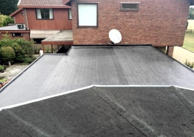 Rubber Roof in Ingatestone Essex
