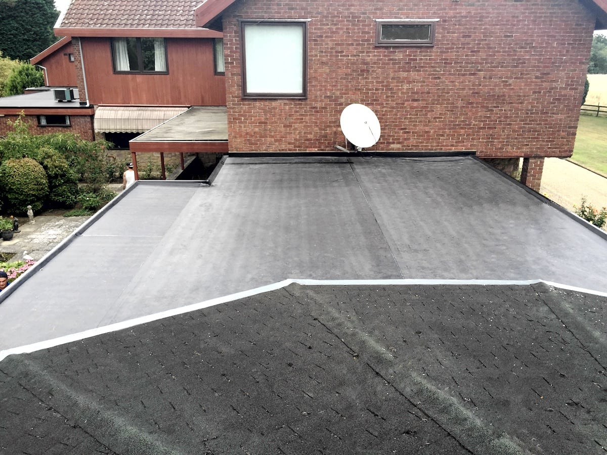 Rubber Roof in Ingatestone Essex