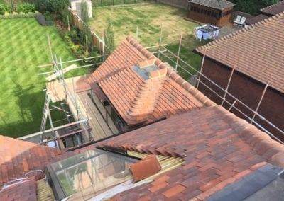 Tiled Roof Gidea Park Essex