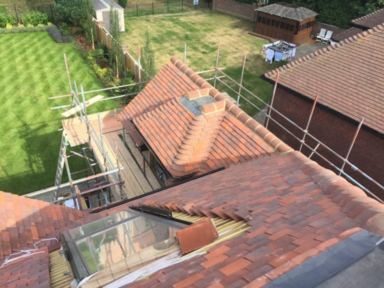 Tiled Roof Gidea Park Essex