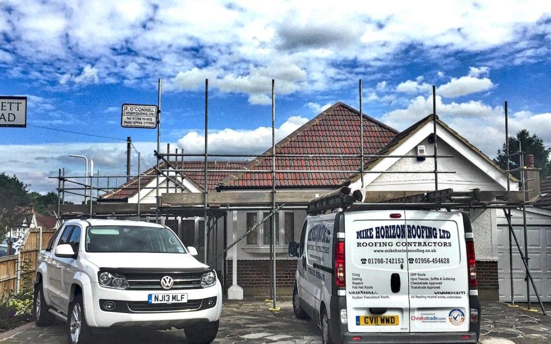 Tiled Roof Upminster Essex