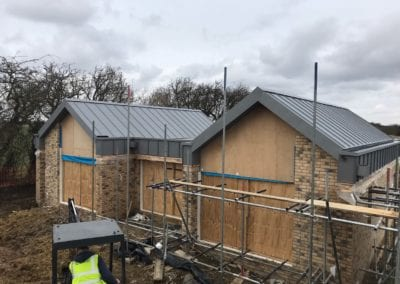Rubber and Zinc roof at special educational needs school