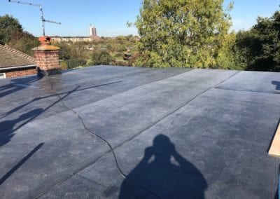 Rubber roof in Chelmsford Essex
