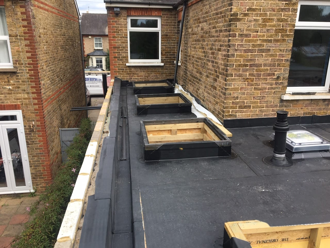 Rubber Roof In Kent Mike Horizon Roofing
