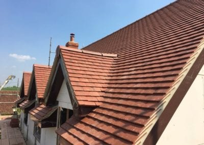 Tiled roof in Stansted Essex