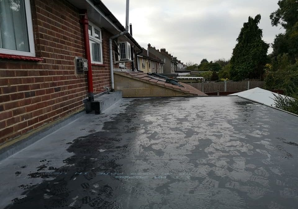 EPDM rubber and UPVC fascias, soffits and gutters