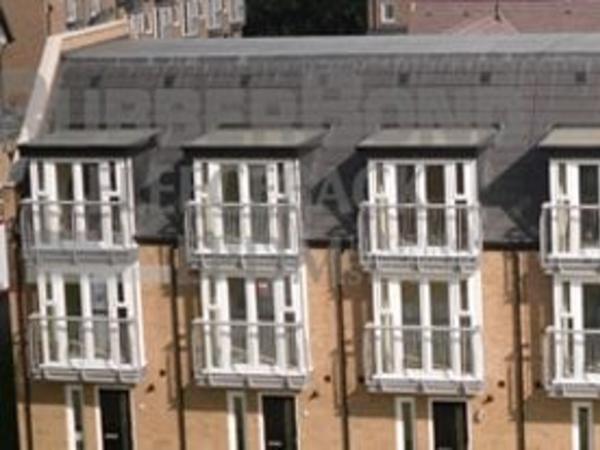Rubber dormer roofs