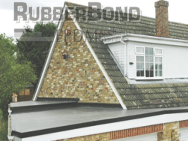 Rubber roof for homes